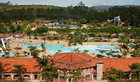 Resort-Convenções inserido no complexo turístico Magic City <br> Suzano / SP
