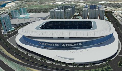 Hotel e Centro de Eventos na Arena Grêmio<br>Porto Alegre / RS