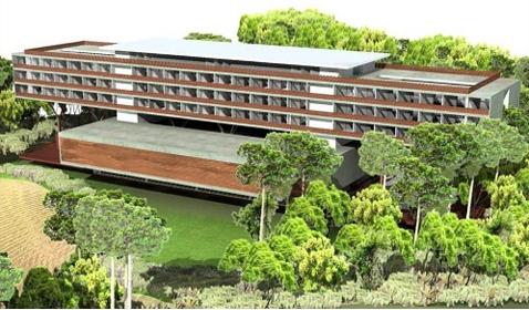 Hotel do Parque, Parque Hotel e Residencial com Serviços, inseridos no Parque Guinle<br>Nova Friburgo / RJ