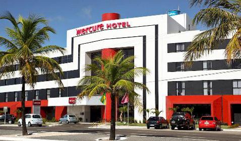 Centro de Convenções anexo ao Mercure Aracaju Delmar<br>Aracaju / SE