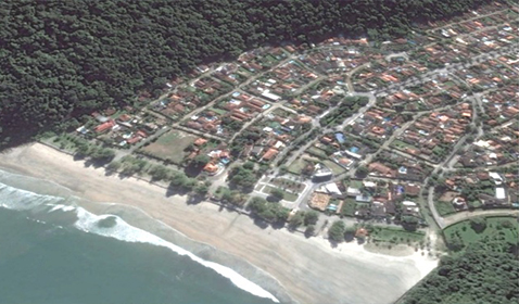 Complexo Imobiliário Turístico na Praia do Guaiuba<br>Guarujá / SP