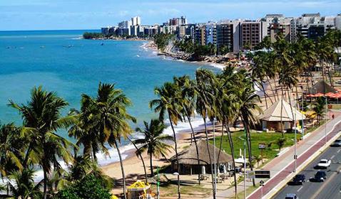 Planejamento de dois hotéis na praia da Jatiúca<br>Maceió / AL