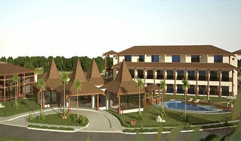 Empreendimento Imobiliário Turístico e Hoteleiro na praia de Itacimirim<br>Camaçari / BA