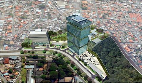 Hotel econômico inserido em complexo multiuso<br>Belo Horizonte / MG