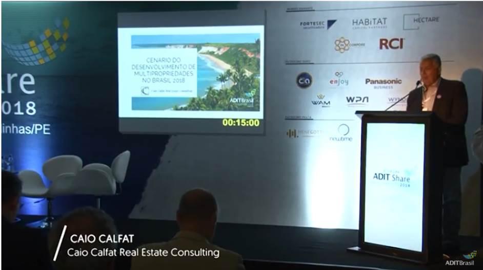 Palestra Adit 2018 – Cenário do Desenvolvimento de Multipropriedades no Brasil 2018